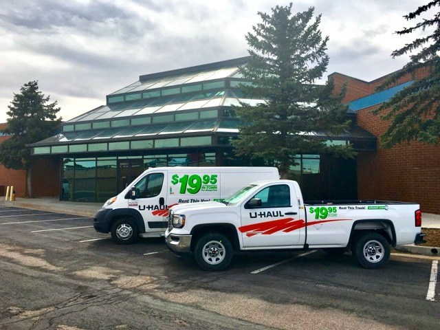 U-Haul® sustainability initiatives are being applied through the adaptive reuse of an old commercial office space at 6805 Corporate Drive in Colorado Springs.
