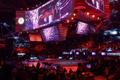 25,000 entrepreneurs fill the Greensboro Coliseum for Market America/SHOP.COM's 2017 International Convention & 25th Anniversary Celebration.