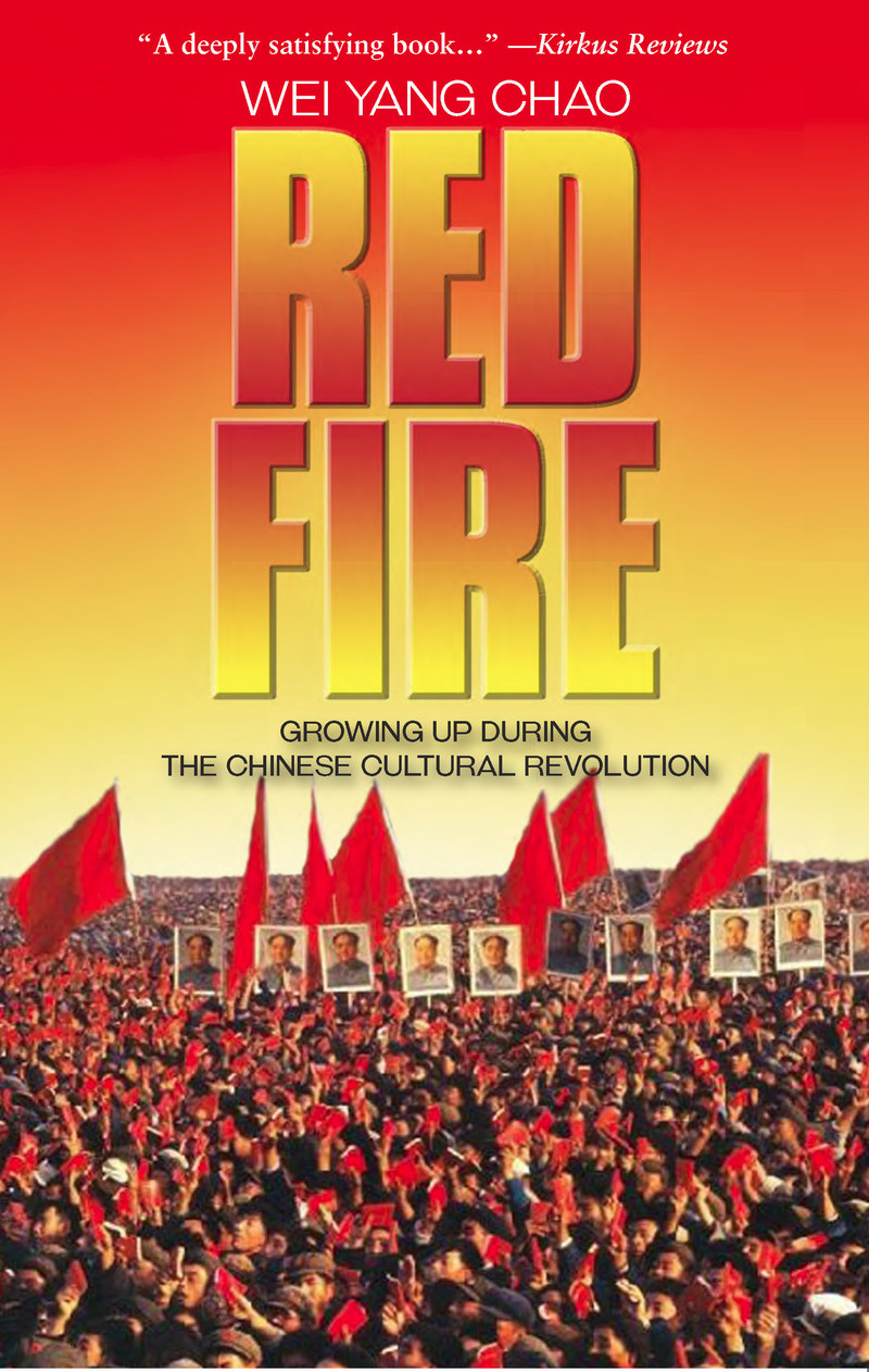 book cover for RED FIRE by Wei Yang Chao