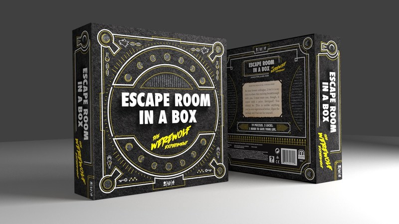 Escape Room In A Box The Werewolf Experiment