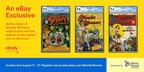 Tres de los libros de historietas (cómics) más raros de Wonder Woman (La Mujer Maravilla) de todos los tiempos serán vendidos en eBay