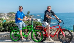 Pedego co-founders Don DiCostanzo and Terry Sherry