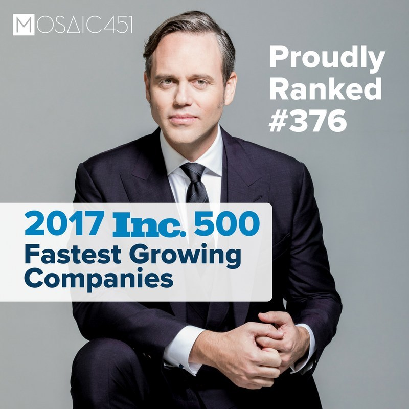 Under the leadership of Mike Baker, Ranked No.376 on the 2017 Inc. 5000 list with a 3-year growth of 1,149%. Additional honors include ranking No. 6 in the Security category, and No. 7 for companies located within the state of Arizona.