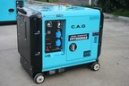 C.A.G. Developed Unique Super Silent Generator for High End Power Solution Market