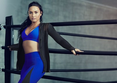 Demi Lovato to Launch Autumn Collaboration with Kate Hudson's Fabletics (PRNewsfoto/Fabletics)