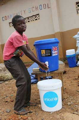 UNICEF responds to the deadly mudlsides in Sierra Leone. Credit: UNICEF (CNW Group/UNICEF Canada)