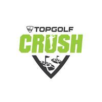 Topgolf Crush logo (PRNewsfoto/Topgolf)