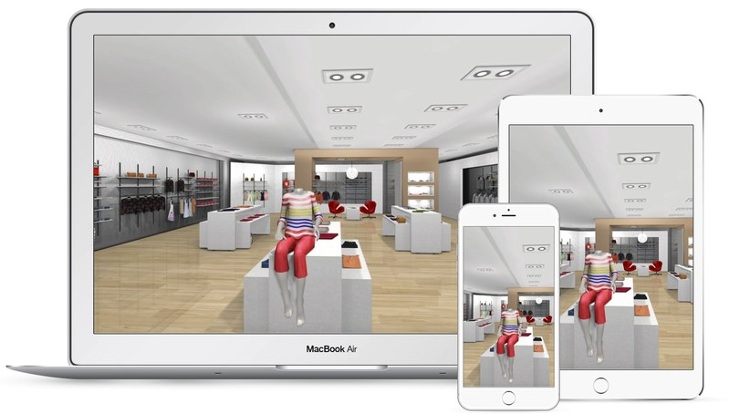 The 360 Mall online shopping solution works on all devices, in browser