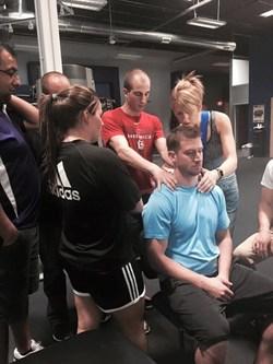 Dr. Tonya Bunner instructing in the Sports Residency program