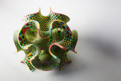 CSM Bakery Solutions and 3D Systems Corporation have joined forces to develop 3D printer products and materials for the food industry. Shown here is a decoration printed from sugar by a 3D Systems machine.