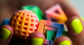 CSM Bakery Solutions and 3D Systems Corporation have joined forces to develop 3D printer products and materials for the food industry. Shown here are decorations printed from sugar by a 3D Systems machine.