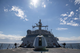 Lockheed Martin-Led Team Successfully Completes Builder's Trials for Littoral Combat Ship Little Rock (LCS 9)