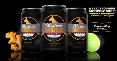 'Merican Mule is a Moscow Mule in a can, and a great alternative to drinking from a copper mug.