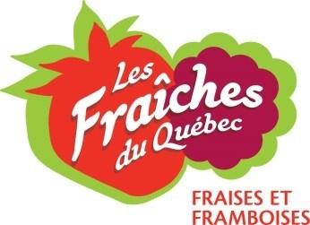 Logo : Les Fraîches du Québec (Groupe CNW/Association des producteurs de fraises et framboises)
