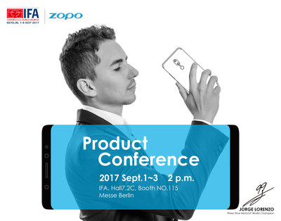 ZOPO (IFA) New Product Event to be showcased at Expo with the Theme Return to Power