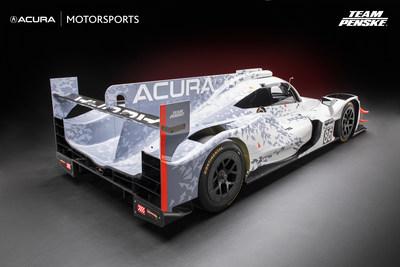 Auto de carreras Acura ARX-05 Daytona Prototype international (DPi)