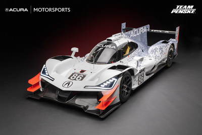 Auto de carreras Acura ARX-05 Daytona Prototype international (DPi)