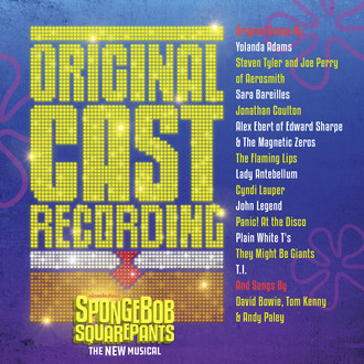 SpongeBob SquarePants - The New Musical Original Cast Recording Available September 22 From Masterworks Broadway