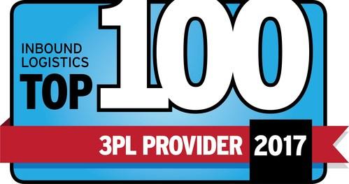 Inbound Logistics Top 100 3PL