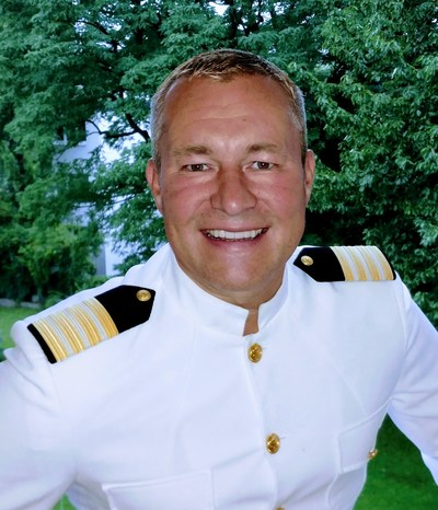 Seabourn, the world's finest ultra-luxury cruise line, welcomes Stig Betten as captain of its newest vessel, Seabourn Ovation, and Helmut Huber as hotel director. Betten will oversee all operations of the new ship scheduled to launch in May 2018 in Italy. Huber will oversee the hotel department, which includes suites, housekeeping, and food & beverage services. (PRNewsfoto/Seabourn)
