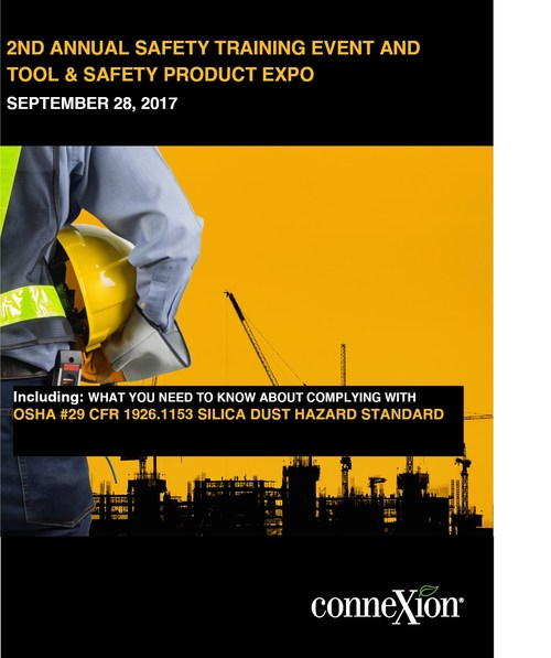 2nd Annual Safety Training and Tool & Safety Product Expo at Connexion 1700 Leider Lane Buffalo Grove, IL 60089