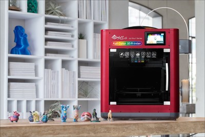The da Vinci Color - a 3D color printer, from XYZprinting