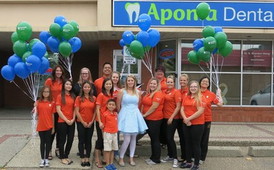 ToothFairy Day 2016 (CNW Group/Aponia Dental)