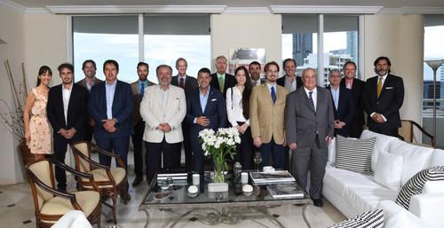 La AACC presidida por Luis Cariola, encabeza la Misión Comercial a la ciudad de Córdoba Argentina, el próximo 6 y 7 de septiembre en el hotel Sheraton. Foto: Guillermo Caminos (PRNewsfoto/Fénix Media Productions)