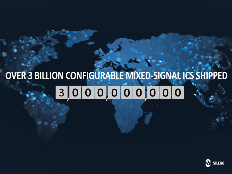 3 Billion Configurable Mixed-signal ICs Shipped by Silego Technology by July 2017
