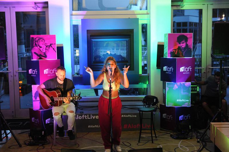 Rachel Crow kicks off the Live At Aloft Hotels Tour at Aloft Miami Doral