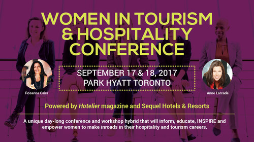 Women in Tourism and Hospitality (WITHOrg.com), an organization dedicated to the advancement of women in the tourism and hospitality industries, today announced the program lineup for its upcoming inaugural conference taking place in Toronto on Sept. 18, 2017, at the Park Hyatt Hotel.