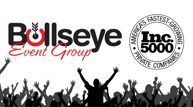 Bullseye Event Group is part of Inc. Magazine's top 5000 fastest growing companies.
