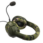 The Turtle Beach Recon Camo multiplatform gaming headset delivers unbeatable game and chat audio through large 50mm over-ear speakers with a WWII era camouflage and military green design to match gamers' passion. Available this fall for $69.95.