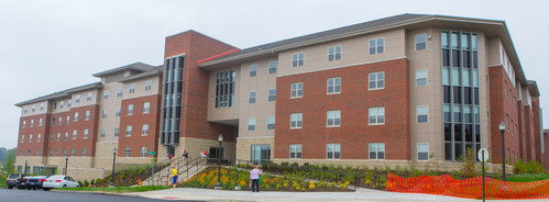 Sycamore Suites is the final phase in a multi-phased development project led by EdR that has revitalized student housing at East Stroudsburg University in East Stroudsburg, Pa.