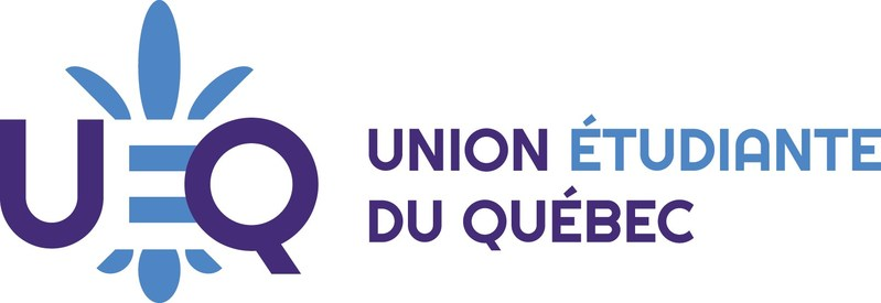 Logo: Quebec Student Union (CNW Group/Québec Student Union)