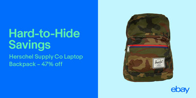 All month long, students can find deals on everything they need to deck out their dorm like nobody else on eBay.
