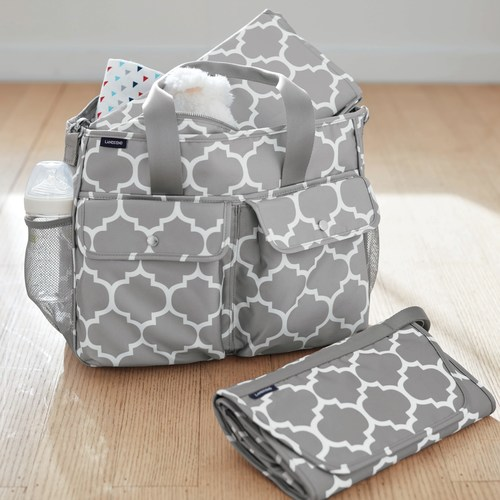 The Lands' End Do-It-All Diaper Bag Returns As The Carryall