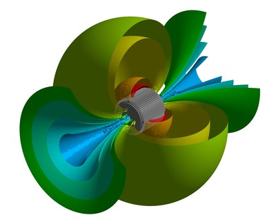 Acoustic  simulation  of  an  electric  motor  in  ANSYS  Mechanical