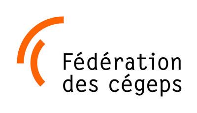 Logo : Fédération des cégeps (Groupe CNW/Fédération des cégeps)
