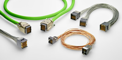 TE Connectivity's Cabled STRADA Whisper connectors eliminate the need for printed circuit board (PCB) backplanes to achieve improved performance and flexibility as data speeds increase.