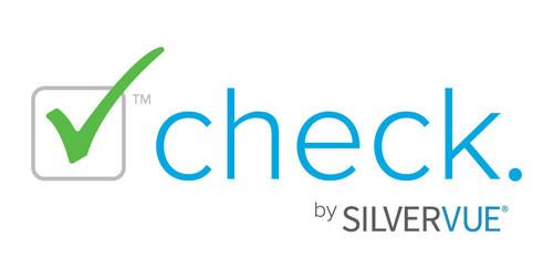Check™ by SilverVue® Logo