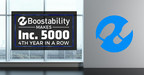 Boostability Makes the Inc. 5000 List for the Fourth Consecutive Year