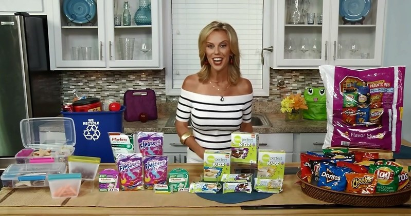 Brooke gave some expert tips for packing school lunches this back to school!