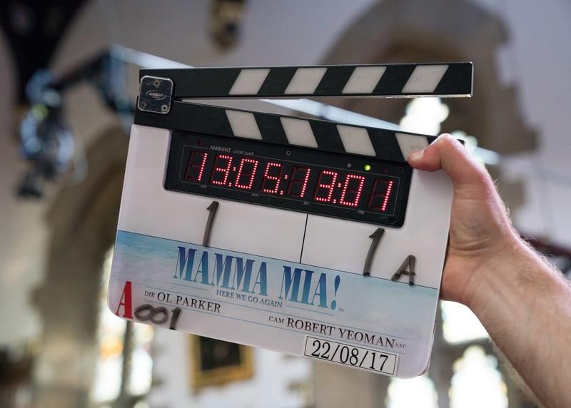 Mamma Mia! Here We Go Again starts principal photography