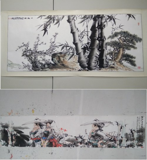 Exhibits at Huaxia Arts Expo Park in Changzhou National Hi-Tech District