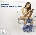 Thanks To PushAuto Your Toilet Time Just Got A Lot More Productive