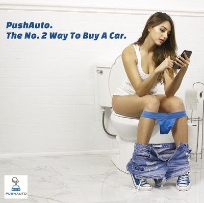Some of your best work gets done on the toilet. PushAuto adds buying or leasing a car to what can be accomplished while in the bathroom.