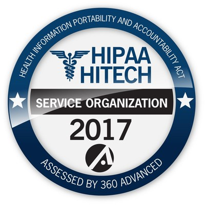 """AdvantEdge Healthcare Solutions (""""AdvantEdge"""") announced successful third party recertification for HIPAA and HITECH privacy and security requirements by 360 Advanced, marking AdvantEdge's fifth consecutive year of complete organizational commitment to meet the rigorous data and security requirements of HIPAA and the HITECH Act."""