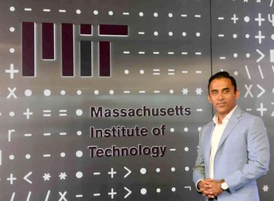 Irfan Khan, President and CEO, Bristlecone at MIT (PRNewsfoto/Bristlecone Inc.)