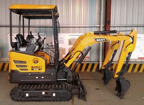 SANY introduces SY16C 1.75ton excavator to the Australian market